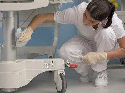 Limpieza y desinfección de hospitales