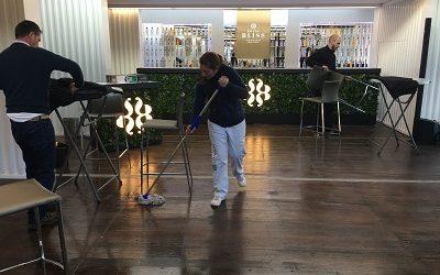 Servicio de limpieza para eventos