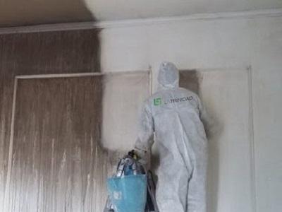 Como limpiar las paredes después de un incendio