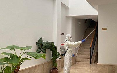 Desinfección total comunidades de vecinos