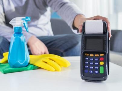 Cómo desinfectar el datáfono