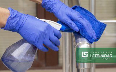 La desinfección de superficies evita 1 de cada 5 contagios por Covid-19
